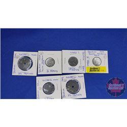 Occupation Coins (6) : Belgium 1940's