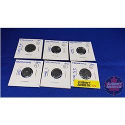 Netherland (6) Coins (1941-1942-1943)