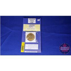 "Canada Trade Coin : 1967 Wainwright ""Worlds Largest Buffalo"""