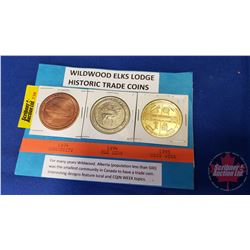 Wildwood Elks Lodge Historic Trade Coins