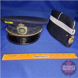 Uniform Hats : Denmark Police Cap (60cm) & Wedge Hat
