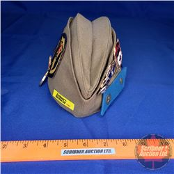 Uniform Hat : USSR Wedge Hat with Many Badges