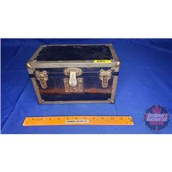 "Salesman Sample - Tin Steamer Trunk Sample (6""H x 10""W x 6""D)"