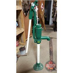 "Water Pump - Green/White (58""H)"