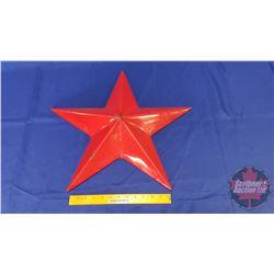 "Texaco Star Service Station 20"" Enamel Sign"