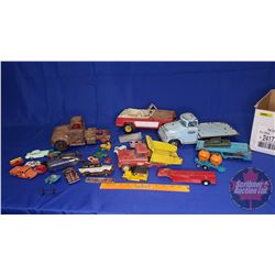 Toy Parts Box Lot (Including Tonka Toys Truck)