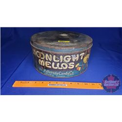 """Moonlight Mellos"" The Patterson Candy Co Tin"