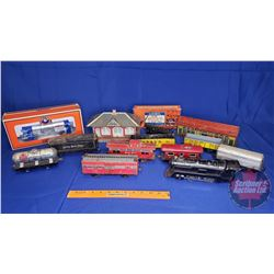 Tray Lot: Lionel & Marx Trains - Variety