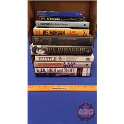 Tray Lot: Variety of Baseball theme Books (9)