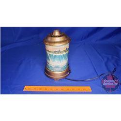 "Motion Lamp 1950's Niagara Falls (9-1/2""H) (Lamp works, motion not working)"