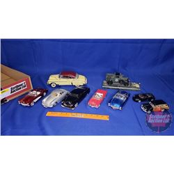 Collection of Diecast Cars - Variety (9)