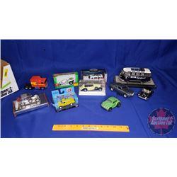 Box Lot - Variety of Diecast & Plastic Cars/Trucks (10)
