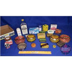 Tray Lot - Medicine/Apothecary Items: Watkins Bottle, Dodd's, Victory V, Phillips, etc