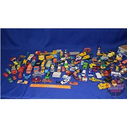Tray Lot - Huge Collection of Small Toy Trucks/Cars etc!