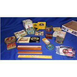Tray Lot - Cigar Tins/Boxes (Ritmeester, Rameses II, Kora, Webster, etc)