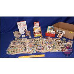 Tray Lot - Baseball Theme: Cards, Bubble Gum, Book