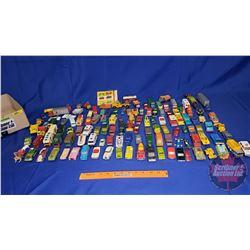 Large Assortment of Lesney Matchbox Toys (Cars/Trucks)