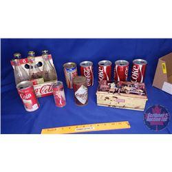 Box Lot: Coca-Cola Bottles/Cans