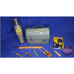 Stanley Lunch Kit & Thermos & Stanley Stud Finder & Fuller Nut Drivers