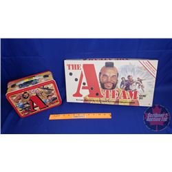 The A-Team Tin Lunch Box & The A-Team Board Game