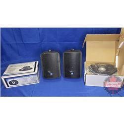 Opti Drive - Car Speakers 6x9 (New in Box) + 2 Mackie Industrial Speakers (Used)