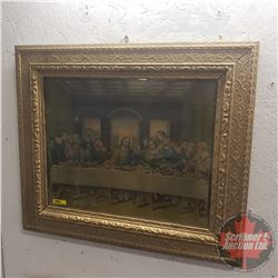 "Framed Print ""Last Supper"" (23"" x 27"")"