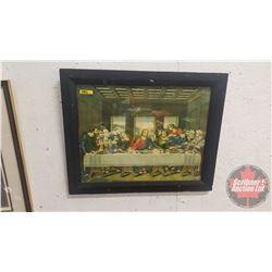 "Framed Print ""Last Supper"" (19"" x 23"")"
