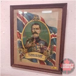 "Framed Print Field-Marshall Earl Kitchener (25-1/2"" x 21-1/2"")"