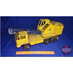 Metal Toy:  Ny-lint Construction Crane