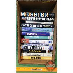 Box Lot - Hockey Books (13)