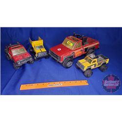 Metal Toy Trucks (4): Tonka (Variety)