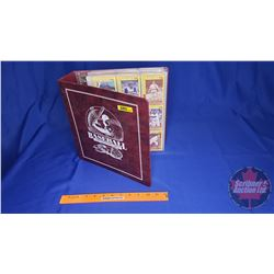 Baseball Card Collector Album with Large Collection of Cards ! (550+ cards)