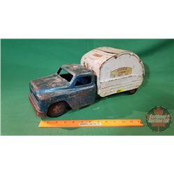 "Metal Toy : Structo Hydraulic Sanitation Truck (18-1/2""L)"