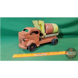 "Metal Toy Truck : Lincoln Ready-Mix Concrete  (12""L)"