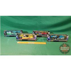 4 Maisto Design Diecast Toys (1/64 Scale) (In Box)