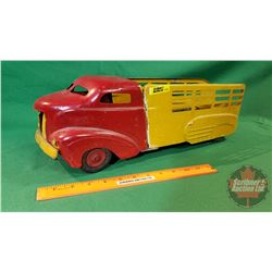 "Metal Toy Truck - Hauler ""All-Metal Prodco "" (20""L)"