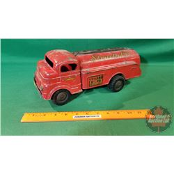 "Metal Toy Truck - Wind Up : Structo 66 (13""L)"