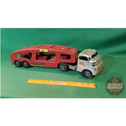 "Metal Toy Truck : Structo Auto Transport (21""L)"