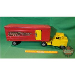 "Metal Toy Truck : Structo Transcontinental Express (25-1/2""L)"