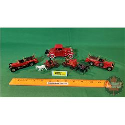Small Toys - Variety Makers : Fire Trucks & Horse Drawn Fire Brigade