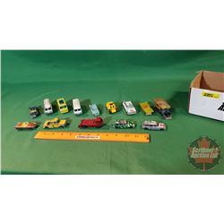 Tray Lot - Husky Theme: Toy Trucks/Cars (14)