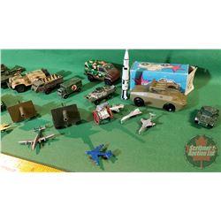 Tray Lot - Variety Small Military Toys (23)