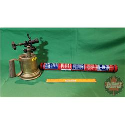 Blow Torch and Liberty Fire Extinguisher