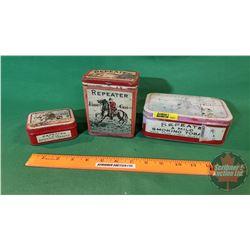 Tobacco Tins (3): Repeater Smoking Tobacco