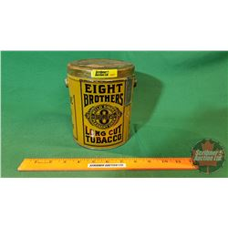 Tobacco Tin: Eight Brothers Long Cut Tobacco