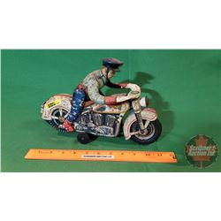 Tin Toy: Police Motorcycle