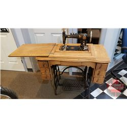 Treadle Sewing Machine: Improved Reliance (T. Eaton Co)