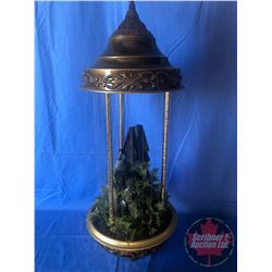 Grist Mill/Water Wheel Oil / Rain Drip Lamp