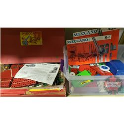 Meccano (Various Parts and Pieces)