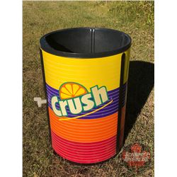 "The Iceman Store Display Cooler: Crush (no Lid) ( 32""H x 23"" Dia)"
